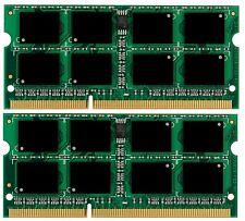 New! 8GB 2X 4GB Memory PC3-8500 DDR3-1066MHz HP EliteBook 8540 (p, w)