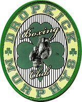 Dropkick Murphys Boxing Club cloth patch (cv)