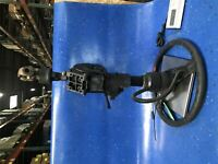 Steering Column w/ Steering Wheel for Blue BIrd 0166765