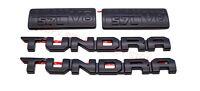 4PCS Genuine Toyota Tundra Blackout Emblem Overlay Kit 2014-2020 Overlays