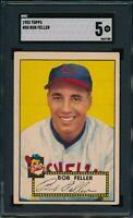 1952 Topps Set Break #88 Bob Feller SGC 5 Not PSA *OBGcards*
