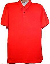 Benson Orange Men's Cotton Polo T-Shirt Size 2XL NEW