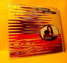MAXI Single CD LEILA K. Electric 3TR 1995 eurodance