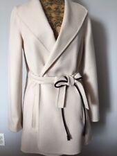 2018 MAX MARA STUDIO Aprile Tie Belt Short Coat Jacket Size 12  $995 NEW