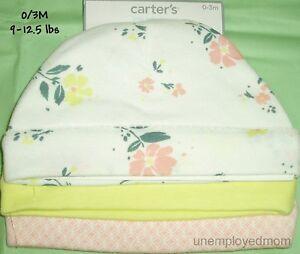 Baby Cap Mittens Beanie Hat Girls Lot Shower Gift Newborn 0-3 months Presents