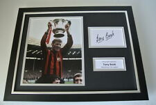 Tony Book SIGNED FRAMED Photo Autograph 16x12 display Manchester City & COA