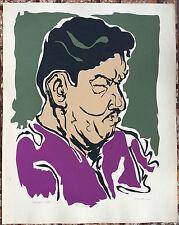Manuel Hernandez Acevedo Serigraph Print Santos Rene Puerto Rico Art 1964