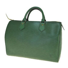 Auth LOUIS VUITTON Speedy 30 Hand Bag Epi Leather Green France M43004 33BM728
