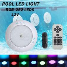 RGB LED Light 252 LED Underwater Swimming Pool 12V +Remote Control Waterproof