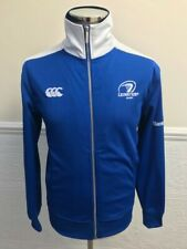 Canterbury CCC Leinster Rugby Blue Tracksuit Top Jacket Size S