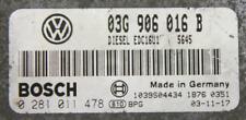 ORI !!! VW GOLF ECU 1.9TDI 105 BKC 03G906016B IMMO OFF PLUG&PLAY