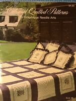 Colonial Quilted Patterns Cross Stitch by Graphique Needle Arts 1980