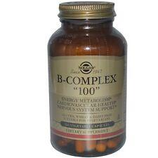 """Solgar, Vitamin B-Complex """"100"""" Vegetable Capsules, 100"""
