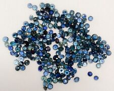 50 PC ROUND SHAPE CUT NATURAL SAPPHIRE 3MM AAA GEMSTONES