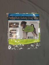 """Reflective Safety Dog Vest Small 18"""" x 13 x 7.5 """" Bright Yellow"""