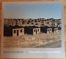 SIGNED David Goldblatt HASSELBLAD AWARD 2006 First Edition HB