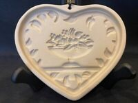 "Pampered Chef ""Come To The Table"" Heart Cookie Mold 1999"