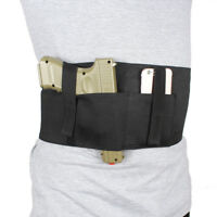 Gun Holster Concealed Carry Belly Band Holster with Magazine Pouch For Glock