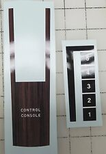 Huffy woodgrain console shifter decals