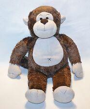 Build a Bear Brown Monkey Plush Stuffed Animal Lovey Jungle Nursery Decor