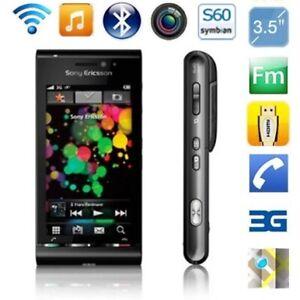 "Original Sony Ericsson U1 Satio Mobile Phone Unlocked 3G 12MP 3.5"" Touchscreen"