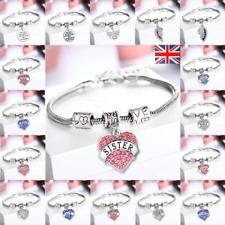 Personalised Christmas Gift Bracelet for Mum Nan Nanny Aunt Mom- Xmas gifts 2018