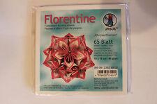 Faltblätter Florentine Chrysanthemen 02 ; 65 Blatt 10 * 10  cm 80 g/qm
