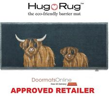 Hug Rug 150x65cm (HIGHLAND 1) Dirt Trapper Door Mat / Runner Machine Washable