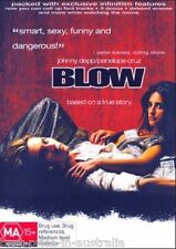 Blow DVD NEW TOP 1000 MOVIES BIOGRAPHY TRUE STORY Johnny Depp Penélope Cruz R4