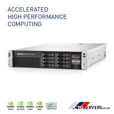 HPE ProLiant DL380p G8 2x SIX Core E5-2620 144GB RAM 2.4TB NVIDIA Tesla V100