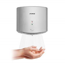 AIKE AK2630S Compact Automatic High Speed Hand Dryer Commercial and Cover
