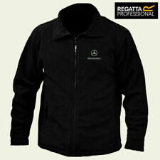 Mercedes Benz Regatta Fleece Jacket Embroidered Logo Winter Warmer Unisex