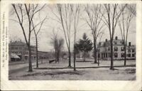 Thomaston CT Main St. & Park c1905 Postcard