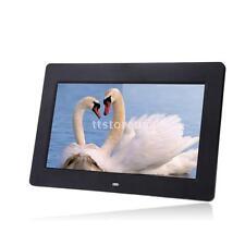 "10""HD TFT LCD 1024*600 Digital Photo Frame Alarm Clock MP4 MP3 Movie Player W9I5"