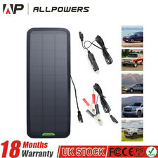 18V 7.5W Portable Solar Powered Panel Car Caravan Battery Charger Maintainer