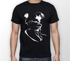 Darker Than Negro Hei Anime Manga Unisex Camiseta Camiseta Todas las Tallas