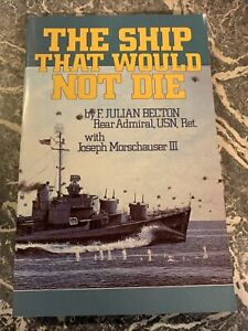 VINTAGE BOOK WAR WW2 PAPERBACK THE SHIP THAT WOULD NOT DIE BECTON 10