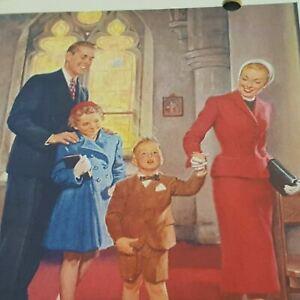 Vintage 1955 Wall Calendar Globe Cleaners Navasota Texas Old Mail Advertisement