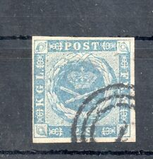Old classic stamps of Denmark 1854 # 3 used 55 .-Euro