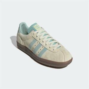 Adidas Padiham Trainers Sand Green Authentic Brand New