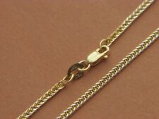 Necklace Lobster clasp Solid 10kt Gold Real 10K Yellow Gold 2.25mm Wheat Chain