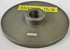 """ERON 7-5/8"""" Chuck Adapter Plate 1-1/2 - 8 Spindle Mount 1/2"""" Thickness"""