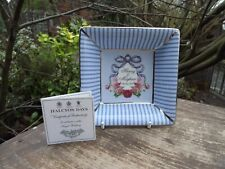 2018 Wedding of Prince Harry & Meghan of Sussex Halcyon Days small square dish