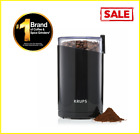 KRUPS Fast Touch Electric Coffee and Spice Grinder With Stainless Steel Blades