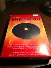 GENUINE Roxio Easy CD & DVD Burning Data Photo Video Music