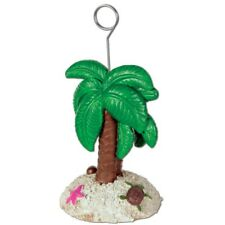 Luau Party Beach Palm Tree Shell and Turtle Photo/Balloon Holder