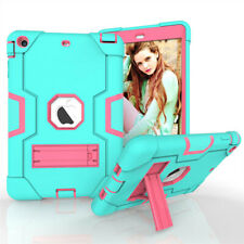 For iPad Mini 1 2 3 Silicone Protection Tablet Case Shockproof Stand Cover
