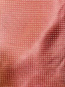 CANALI MADE IN ITALY WINERED SILVER TINY DOTS SILK NECKTIE TIE MDE3120A #C12
