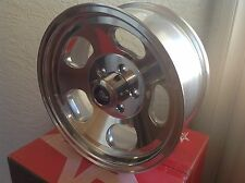 (4) 15 inch VNA69 15x7 CLASSIC ANSEN SPRINT POLISHED RIMS 5x4.5 5x114.3 4.0BS