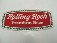 Rolling Rock Premium beer LARGE unused distributor uniform vintage patch!